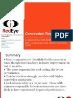 Conversion Report Summary 2009