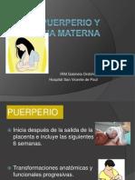 Puerperio y Lactancia Materna