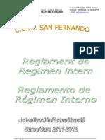 Reglamento Régimen Interno - 06/12