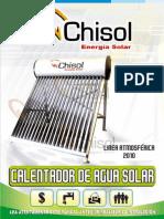 Calentador-solar Manual Chisol