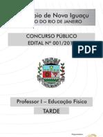 NovaIguacu_PROFESSOR I - EDUCAÇÃO FÍSICA