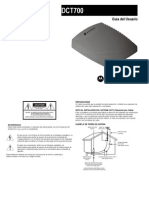Decodificador Motorola DCT700 Manual de Usuario   TeleCentro
