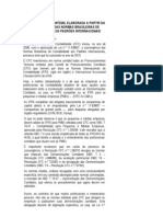 A ESCRITURAÇÃO CONTÁBIL ELABORADA A PARTIR DA CONVERGÊNCIA DAS NORMAS BRASILEIRAS DE CONTABILIDADE AOS PADRÕES INTERNACIONAIS