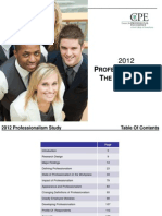 2012 Professionalism in the Workplace Study