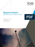 Beyond Rhetoric Delivering a Low Carbon Society