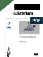 LBR7-MB-MaxG Gas Valve Manual