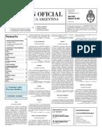 Boletín Oficial 21 de diciembre 2011 - Segunda Sección