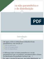 Cap 11 - Estatística não paramétrica e livre de distribuição