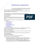 Windows Server 2003 Boot Process