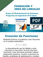 Clase 4-Integracion y Ecuaciones No Lineales