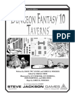 [37-0315] Dungeon Fantasy 10 - Taverns