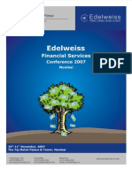 Banking Financial Services Edelweiss Dec 2007