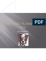 Strategic Planning on 'kfc'