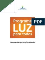 Recomendações de Fiscalização 2011