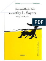 66105802 Sayers Dorothy L Un Cadaver Para Harriet Vane