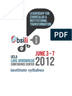 BSILI 2012 Syllabus