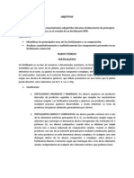 Analisis de Fertilizantes NPK (Normas NTC - Icontec)