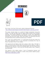 Hidden Satanic Symbols in Chadema's Flag