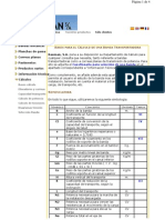 CÁLCULO DE CINTAS TRANSPORTADORAS Y DATOS DE MATERIAS PRIMAS