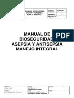 Manual de Bioseguridad Asepsia y Antisepsia