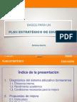 44913686 Presentacion Bases Para Un Plan Estrategico de Educacion Por Silvina Gvirtz