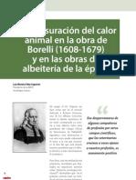 Cv30 La Mensuración Del Calor Animal en La Obra de Borelli