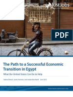 The Path to a Successful Economic Transition in Egypt