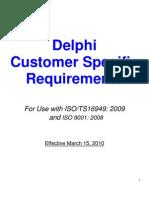 Delphi CSR