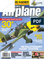 Model Airplane News Magazine. Febraury 2011