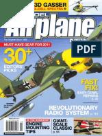 Model Airplane News Magazine. Febraury 2011
