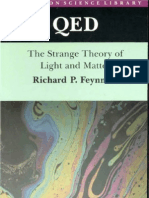 Feynman - QED - The Strange Theory of Light and Matter