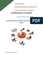 Administracion,Gestion y Mantenimiento de Redes