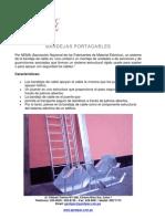 Datos Tecnicos Bandejas Portacable