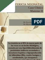 Caso Clinio de Mayerno II Ictericianeonata