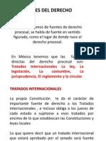 Fuentes Derecho Procesal
