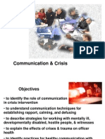 PoliceCommunication&Crisis