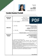 Camila Pontelli CV