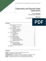 Cybernetics and Second-Order Cybernetics (Heylighen)