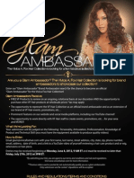 Glam Ambassador Search