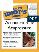 Personal Health The Complete Idiot's Guide to Acupuncture and Acupressure (Alpha-2000)