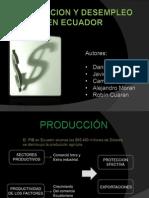 Produccion y Desempleo