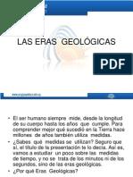 LAS ERAS  GEOLÓGICAS