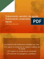 Tratamiento Aerobio de Aguas Tratamiento Anaerobio de Aguas