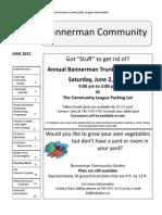 Bannerman Community June 2012 Newsletter