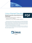 Linux Kernel Development How Fast It is Going Who is Doing It What They Are Doing and Who is Sponsoring It