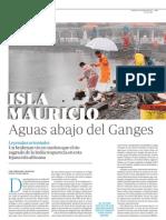 Isla Mauricio, Aguas Abajo Del Ganges - ABC 2012-05-18