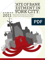 State of Bank Reinvestment in NYC 2011