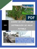 DISEÑO DE RED DE ACUEDUCTO Y TANQUE DE ALMACENAMIENTO PROY