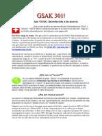Manual GSAK301 español