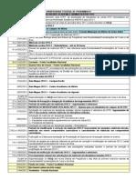 Calendario Academico 2012 - Maro - Modificao - 28.02